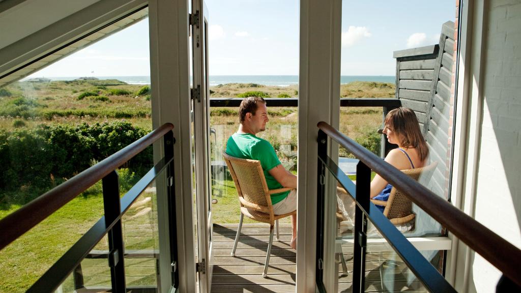 Luxe appartement met uitzicht op zee